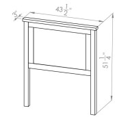 286-30381 Chantry Single Bed