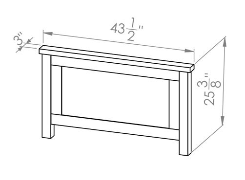 286-30382 Chantry Single Bed