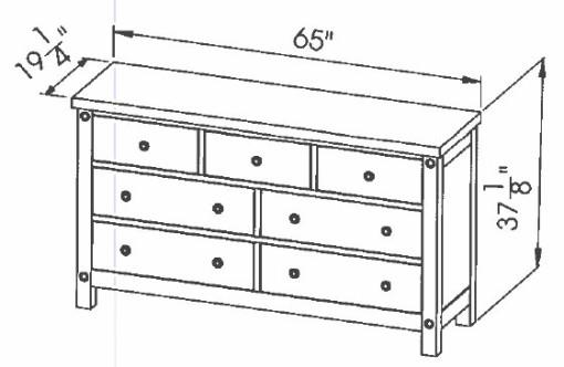 286-407 7dwr Chantry Dresser