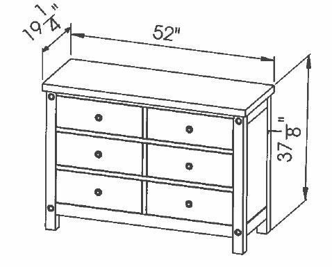 286-411 6d Chantry Dresser