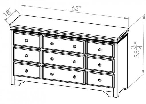 432-409-Henley-Dresser