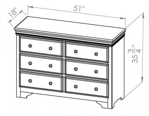432-411-Henley-Dresser
