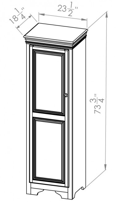 432-806-Henley-Bookcases