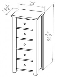 850-401-Rough-Sawn-Chest
