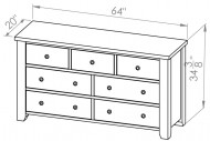 850-407-Rough-Sawn-Dressers