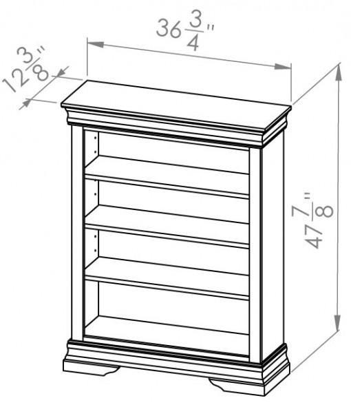 860-704-Rustique-Bookcases