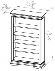 860-705-Rustique-Bookcases