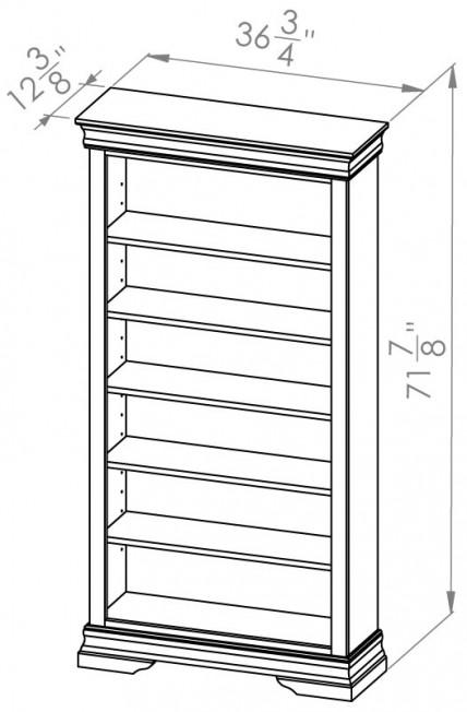 860-706-Rustique-Bookcases