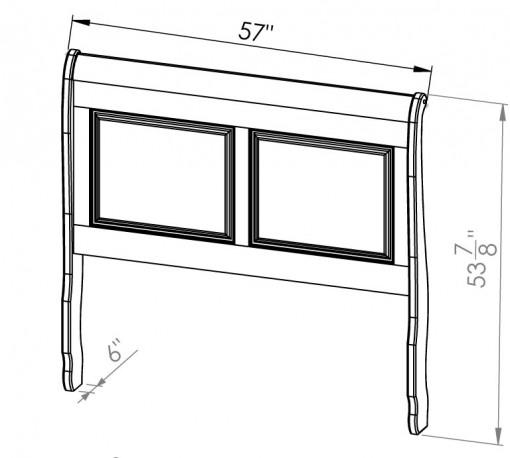 882-20541-Thomas-Double-Sleigh-Bed
