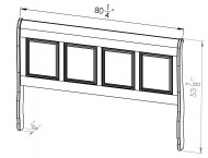 882-20761-Thomas-King-Sleigh-Bed