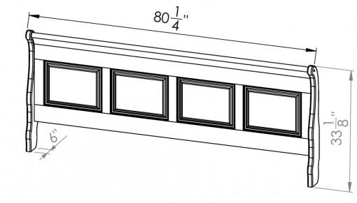 882-20762-Thomas-King-Sleigh-Bed