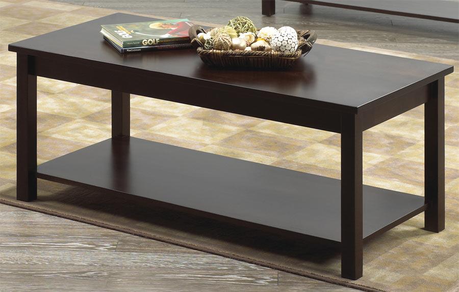 Coffee table harbourside vokes furniture inc for Furniture of america architectural inspired dark espresso coffee table